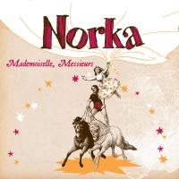 Norka pochette album Mademoiselle, Messieurs