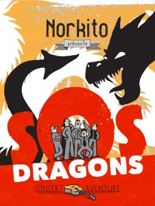 Affiche SOS Dragons